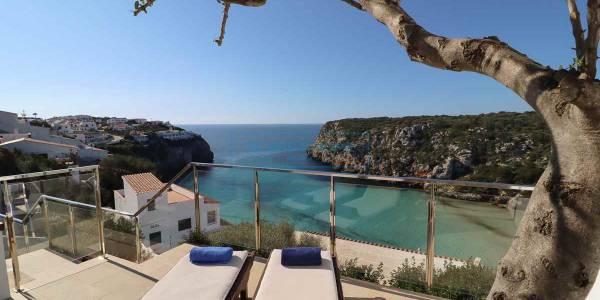 Front line villa for sale, Calan Porter, Menorca